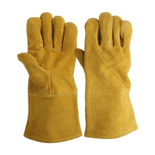 Golden-split-Welding-Gloves